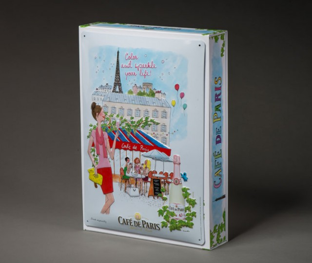 coffret Café de Paris