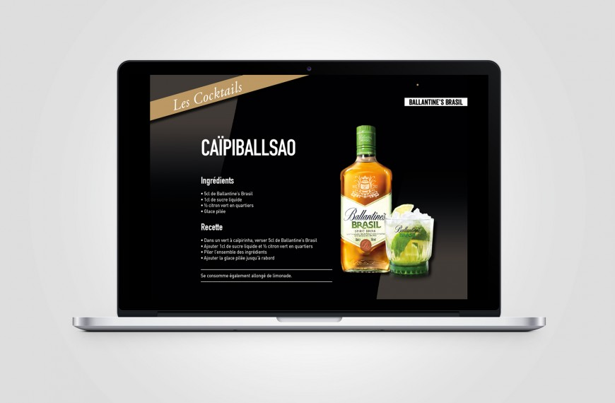 Pernod – Book digital dynamique