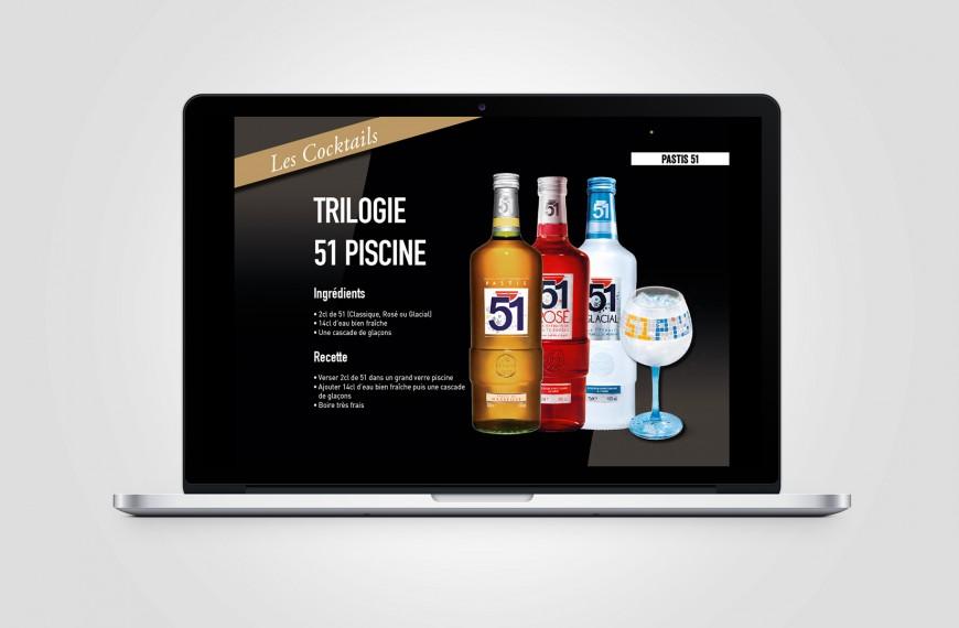 Pernod – Book digital dynamique